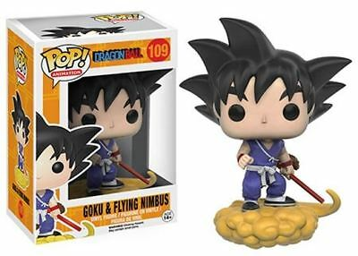 Funko POP! Dragonball: Goku & Flying Nimbus - Anime Vinyl Figure 109 NEW