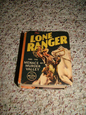 1938 The Lone Ranger and the Menace of Murder Valley Big Little Book