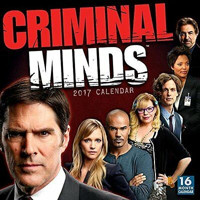 Criminal Minds 2017 Wall Calendar