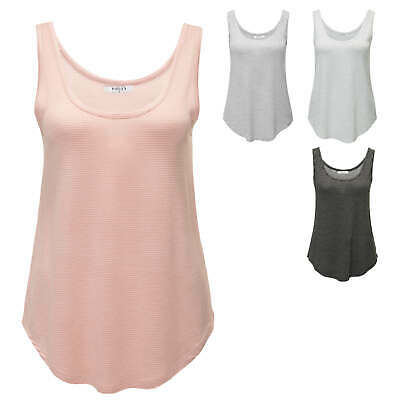 Pieces Damen Tank Top Sommertop Stretch T-Shirt Longtop Longshirt SALE %