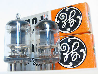 MATCHED PAIR High Reliability 5654 GE 6AK5W *5-Star* Tubes NOS Little Dot Yaqin