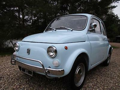 Fiat 500L Lusso -excellent -some nice period extras