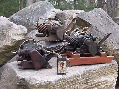 Lot of 3 Maytag Engine Motor Hit & Miss Wringer Washer and Oil Can