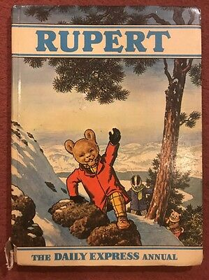 Vintage Original Rupert Bear Annual 1970.