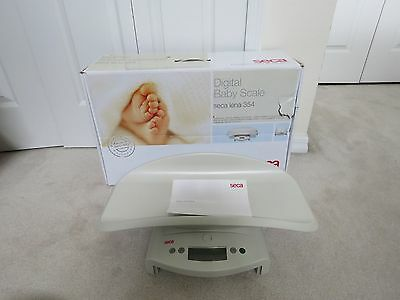 Seca Lena 354 Digital Infant Toddler Baby Digital Scale Mint Mib
