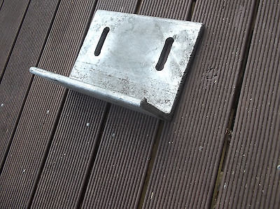 Strong angle bracket 200x150x90 mm thickness 10mm stainless steel