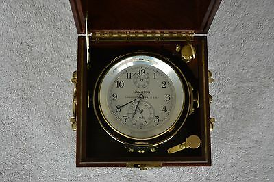 Hamilton Model 21 Marine Chronometer N544