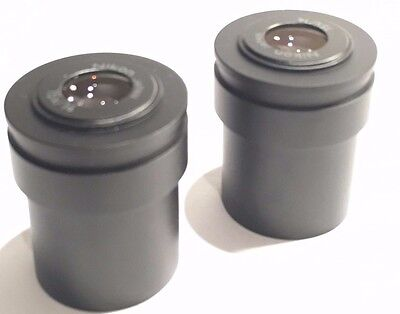 Nikon 15 X / 14  Eyepieces For Stereo Microscope, Sold As A Pair