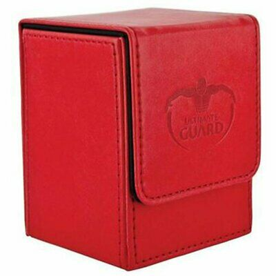 Deck Box Ultimate Guard Flip Deck Case 100+ Standard Size Red