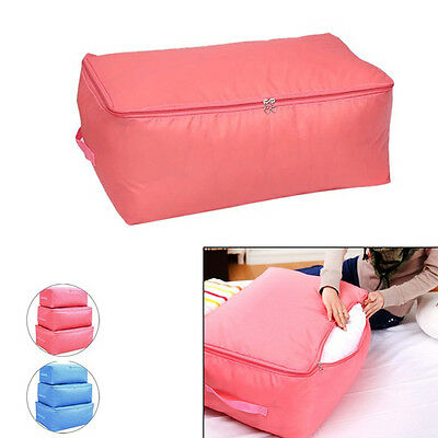 Durable Quilt bag Storage Clothes Blanket Closet Sweater Foldable Organizer Box