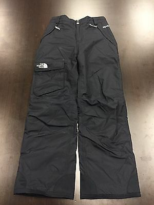 The North Face Hyvent Black Ski Snow Pants Size Youth Kids Large 14-16