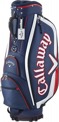 2017 NEW Callaway Caddy Bag Sport Cart Type Men's 5117173 Navy / White / Red