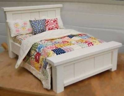 Set of 7 DOLL woodworking plans - doll beds to bookcases -Free Shipping (see ad)