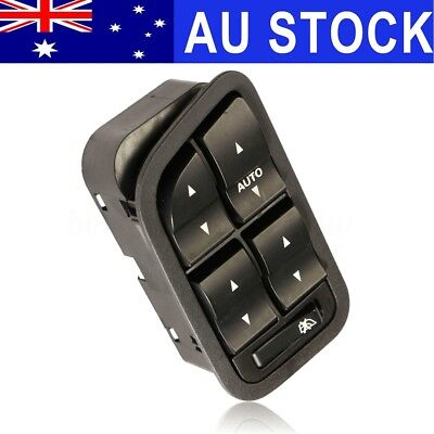 Electric Control Power Window Switch 12V Black Fit For Ford BA BF Falcon 02-08
