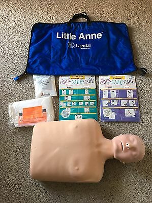 Laerdal Little Anne CPR Training System With Training Dummy