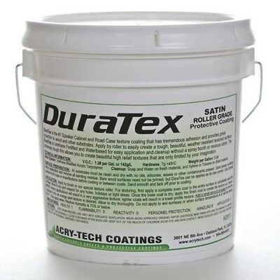 DuraTex Speaker Cabinet Coating Roller Grade: Black - 1 Gallon (3.8L)