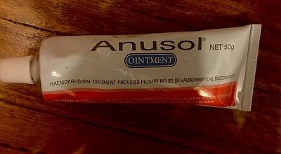 Anusol Ointment 50G Brand New With Seal, No Box
