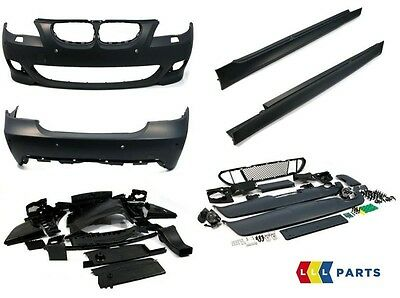New Genuine Bmw E60 2003-2010 M Sport Package Full Retrofit Kit Bumper Sideskirt