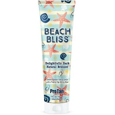 ProTan Beach Bliss Dark Natural Bronzer Indoor/Outdoor Sunbed Tan Lotion 280ml