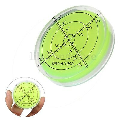 60*12mm Spirit Bubble Degree Mark Surface Level Round For PRO Measuring Tool