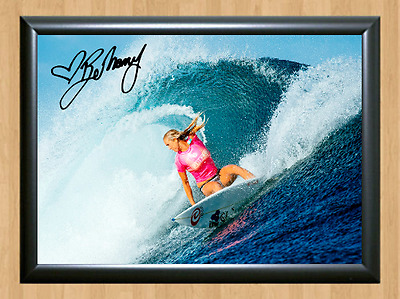 Bethany Hamilton Surfing Surfer Surf Signed Autograph A4 Poster Photo Print 2