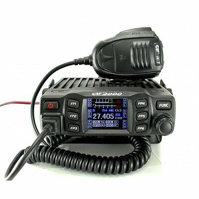 CRT 2000 Multi standard AM FM UK EU Mobile CB Radio with Colour Display 12 / 24v