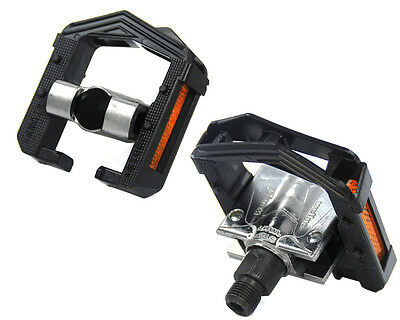 "NEW! Wellgo F265 Alloy Folding Bicycle Pedals - 9/16"" - BLACK - 2DU bearings"