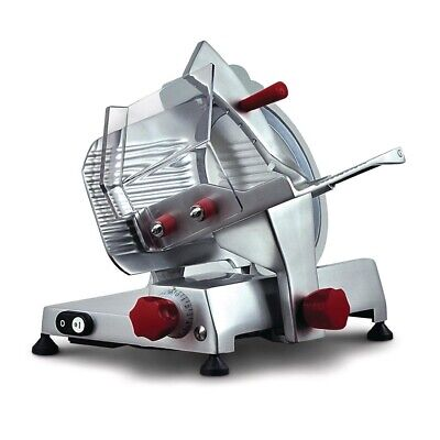 Commercial Noaw Manual Gravity Feed Meat Slicer Cutter Butchery Butcher Ns300