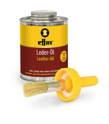 Effax LEATHER OIL Nourishes And Cares All Smooth Leather 475ml 500ml