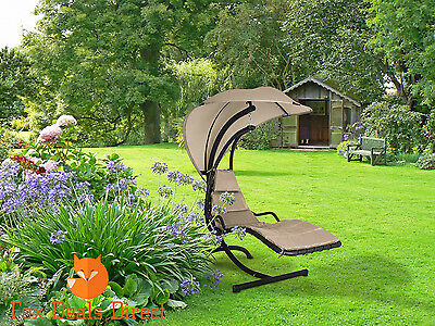 Garden Outdoor Helicopter Seat Dream Chair Swing Hammock Sun Deluxe Lounger