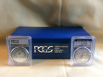 Lot of 20 2017-W Silver Eagle PCGS-MS70 First Strike West Point Mint Label