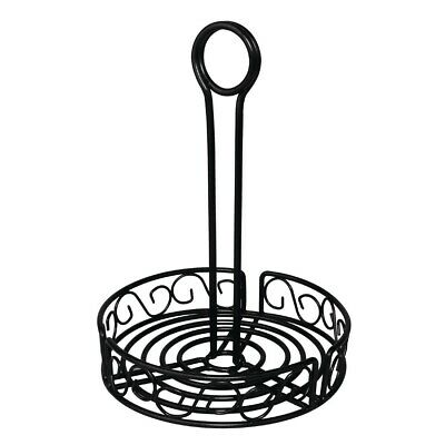Olympia Wire Condiment Holder Black BARGAIN