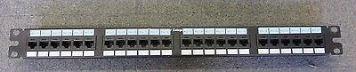 Panduit NetKey PAN-NK6PPG24WY 24 Port Cat5e/Cat6 RJ45 Punchdown Patch Panel