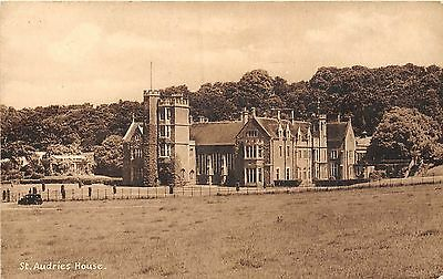 POSTCARD  SOMERSET   ST  AUDRIES  House