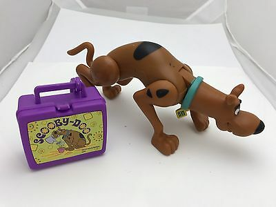 Scooby Doo Action Figure With Collectible Lunchbox 1999 Hanna Barbara Production