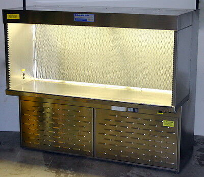 Baker Edgegard 6 Foot Stainless Steel Horizontal Laminar Flow Hood, Eg 6252