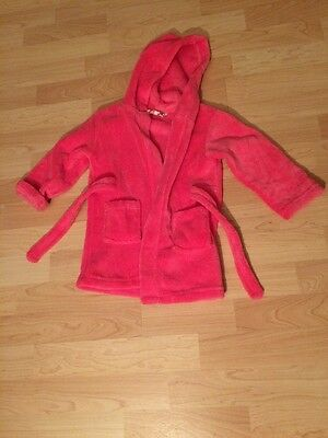 Baby Girls Pink Dressing Gown 18-24 Months
