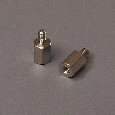 "Stainless M-F Standoffs, 1/4"" Length, 2-56 Thread, RAF 4501-256-SS, QTY 36"