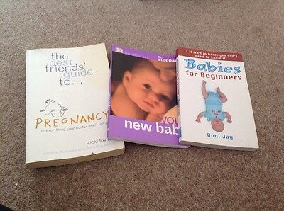 GREAT Baby Books Bundle! Includes You And Your Baby Dr Miriam Stoppard