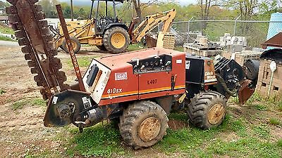 Ditch Witch  410 SX  Walk beside trencher/plow    1997