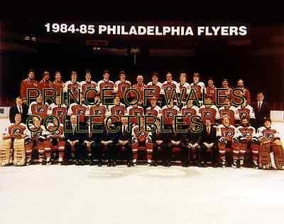 1985 Philadelphia Flyers Team Photo 8X10