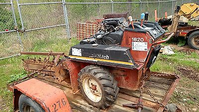 DitchWitch model 1820 H   1996  Walk Behind Trencher