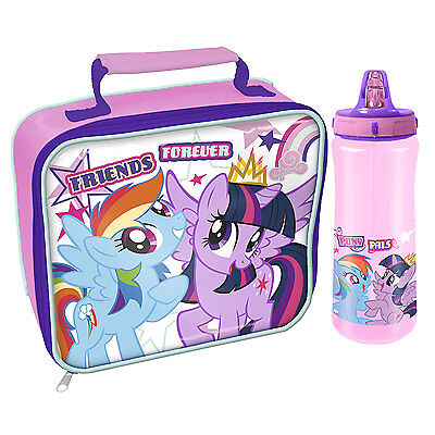 My Little Pony - Friends Forever Lunch Bag and Bottle  *BRAND NEW*