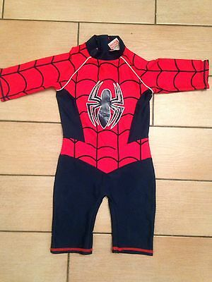 Boys Spider-Man Swimming Costume. Age 18/24months...from TU...