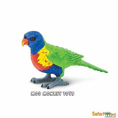 LORIKEET Safari Ltd # 150229  Wings of the World  Bird  REPLICA    NEW 2016