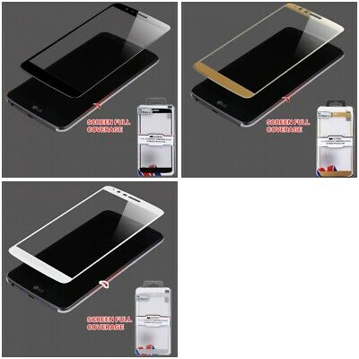 For LG Stylo 3 LS777 Phone Full Coverage Tempered Glass Screen Protector Cover