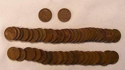 Roll Of 50 1926-D Lincoln Wheat Cents!!  Very Nice Coins!!