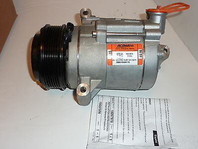2010-2015 Chevrolet Camaro 3.6L-V6 A/C COMPRESSOR & CLUTCH  NEW OEM 15-22273