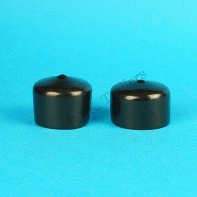 2 x Towing 7 Pin 12N & 12S Plug Covers for Caravan & Trailer