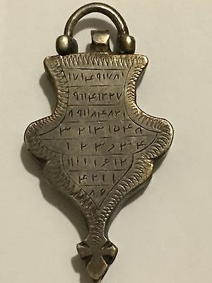 Antique Islamic Omen Numerical Amulet